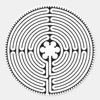 Labyrinth Classic Round Sticker