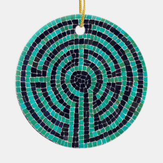 Labyrinth III Circle Ornament (1 sided)