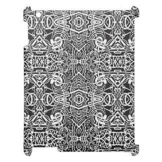 Labyrinth Pattern iPad Covers