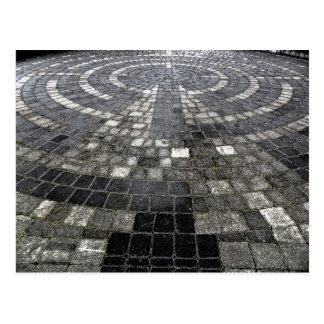 labyrinth postcard