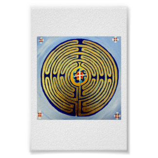 Labyrinth Prayer Poster