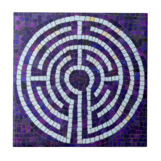 Labyrinth VIII Ceramic Tile
