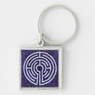 Labyrinth VIII Key Ring