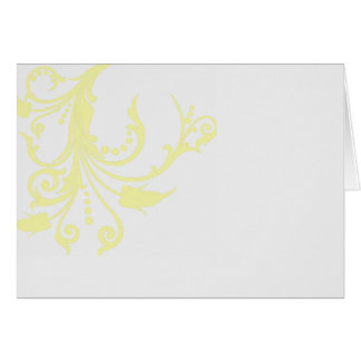 lace and frills greeting card