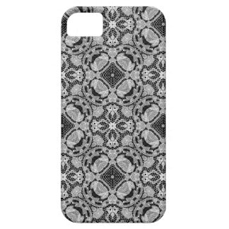 Lace black and white iPhone 5 case