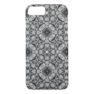 Lace black and white iPhone 7 case