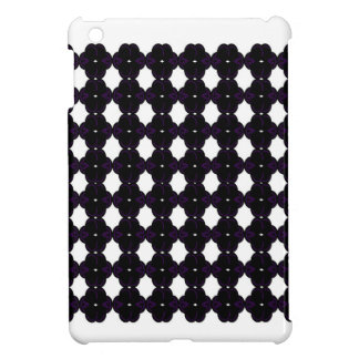 Lace black on white case for the iPad mini