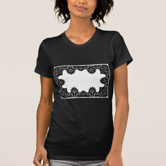 Lace Black & White The MUSEUM Zazzle Gifts Shirt
