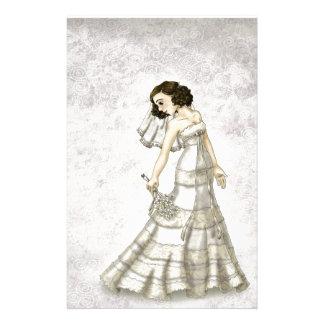 Lace Bride Customised Stationery