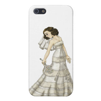 Lace Bride Cover For iPhone 5