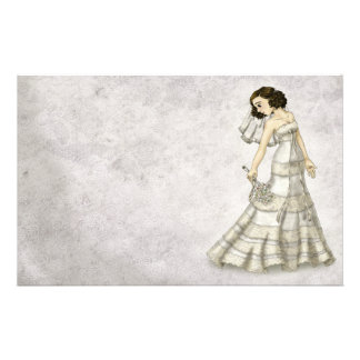 Lace Bride Stationery