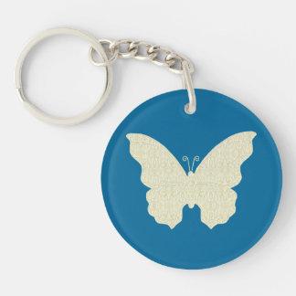 Lace Butterfly Key Chain