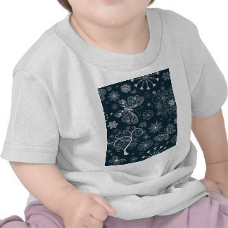 lace butterfly tee shirts
