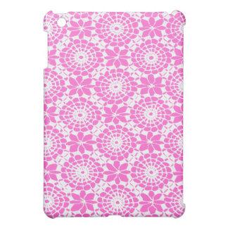 Lace Circles Art Speck iPad Case - Pink