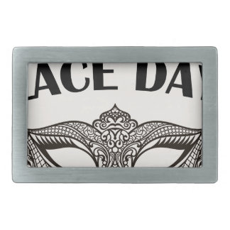 Lace Day - Appreciation Day Belt Buckle