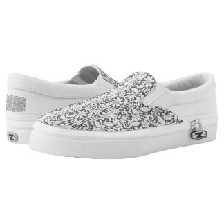 Lace Design Slip-on Shoes