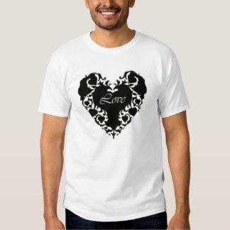 Lace Heart Kid's T-Shirt
