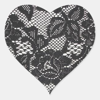 Lace Heart Sticker