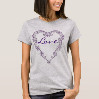 Lace Heart T-Shirt