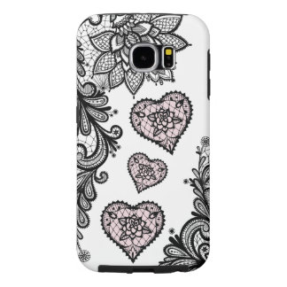 (lace & hearts) samsung galaxy s6 cases