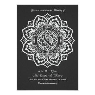 Lace Mandala Wedding Invitations