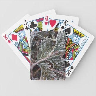 Lace on twigs poker deck
