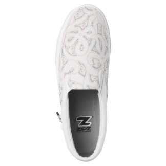 lace shoes printed shoes