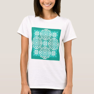 Lace Traces~Shades of Jade T-Shirt