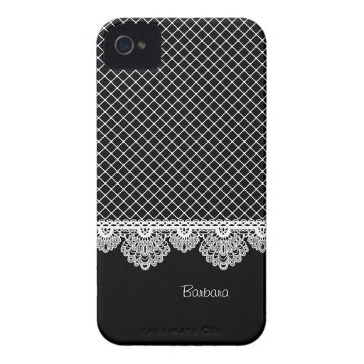 Lace Vintage Elegant Any Color  Blackberry Bold Case-Mate Blackberry Case
