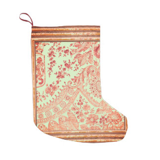 Lace With Roses Small Christmas Stocking