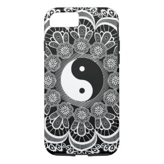 (lace & ying yang) iPhone 8/7 case