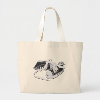 LacedTennisShoes032112.png Jumbo Tote Bag