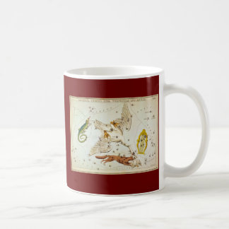 Lacerta, Cygnus, Lyra, Vulpecula and Anser Coffee Mug