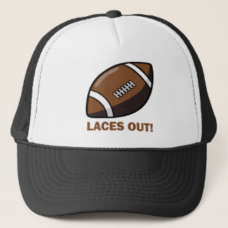 Laces Out Trucker Hat