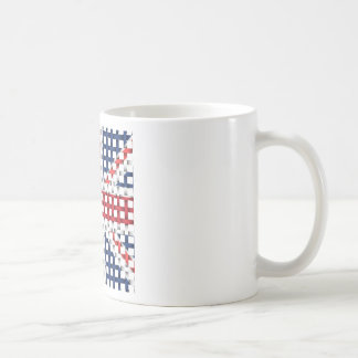 Lacey British flag Basic White Mug