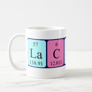 Lachlan periodic table name mug