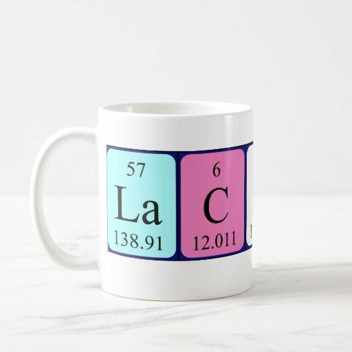 Lachlan periodic table name mug