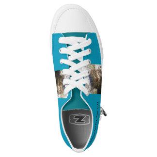 lachlantopcat Zipz Low Top Shoes, US Men 4