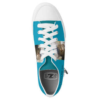 lachlantopcat Zipz Low Top Shoes, US Men 4 Printed Shoes