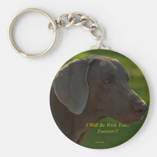 Lacie, I Will Be With You...Forever!!!, Photo b... Basic Round Button Key Ring