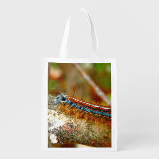 Lackey Moth Caterpillar Reusable Bag