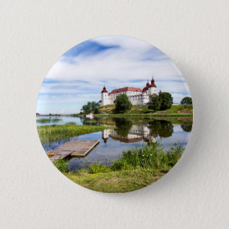 Läckö castle 6 cm round badge