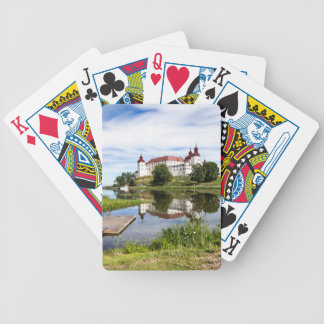 Läckö castle bicycle playing cards