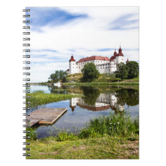 Läckö castle spiral notebook