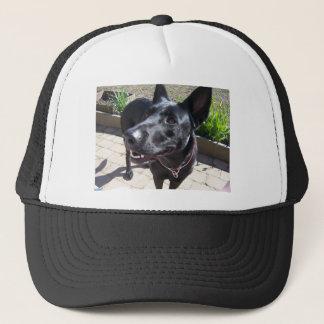 Lacquer Black German Shepherd Trucker Hat