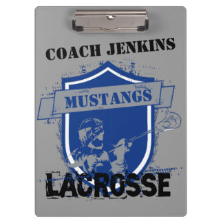 Lacrosse Add Your Own Name Clip Board