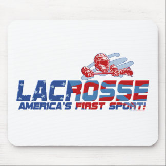 Lacrosse America's First Sport Gear Mouse Mat