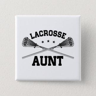 Lacrosse Aunt 15 Cm Square Badge