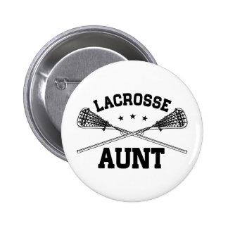 Lacrosse Aunt 6 Cm Round Badge
