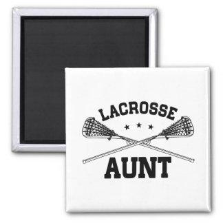 Lacrosse Aunt Magnet